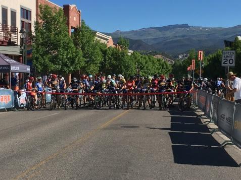 Bike Race Start