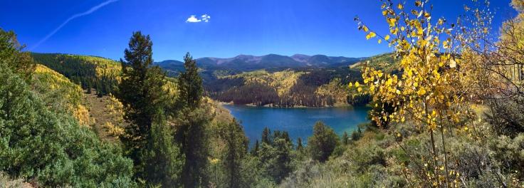 Sylvan Lake Fall Pano
